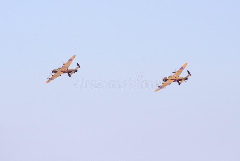 Bombardeiros de Lancaster fotos de stock royalty free
