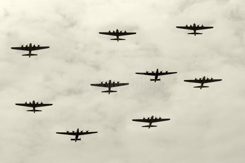 Bombardeiros pesados fotos de stock royalty free