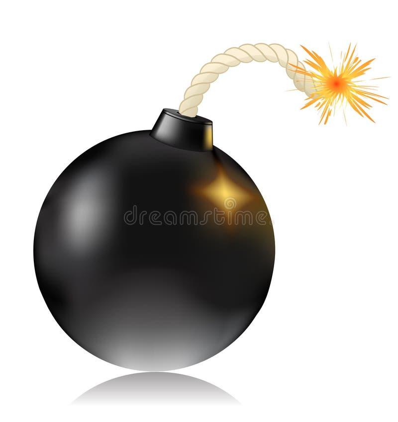 bombardera vektor illustrationer