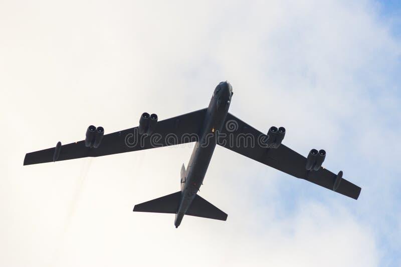 Bombardero B-52 fotos de archivo libres de regalías