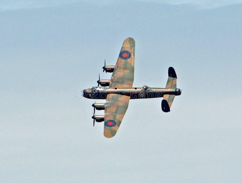 Bombardero de Avro Lancaster fotografía de archivo libre de regalías