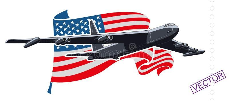 bombardier illustration de vecteur