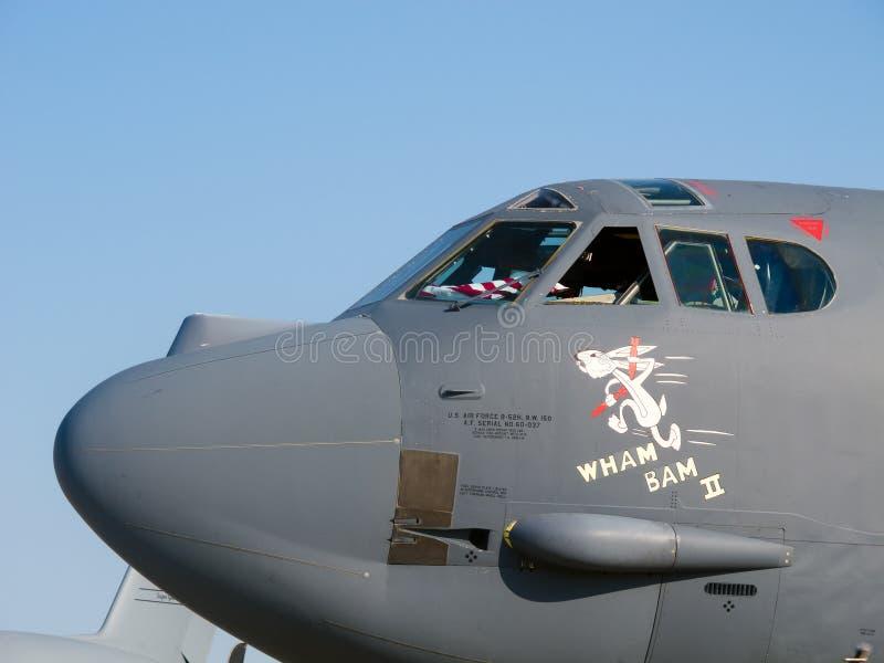 Bombardier Boeing de B-52 Stratofortress photo stock