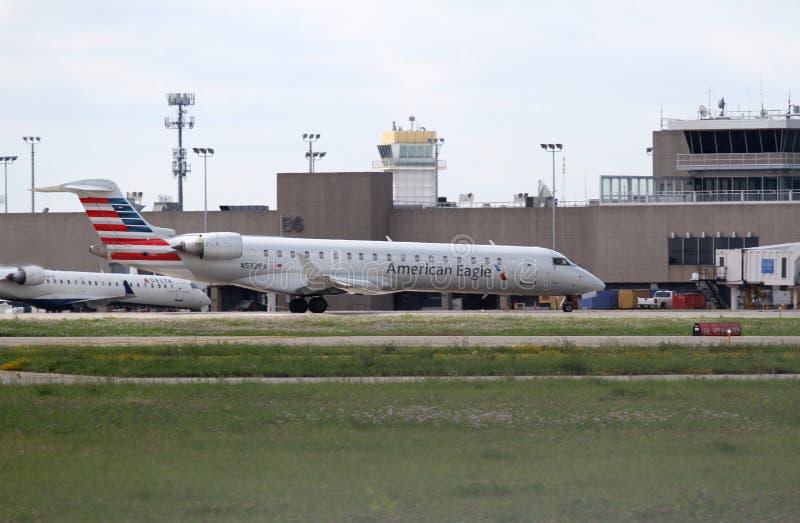 Bombardier CL-600-2C10 zdjęcia stock
