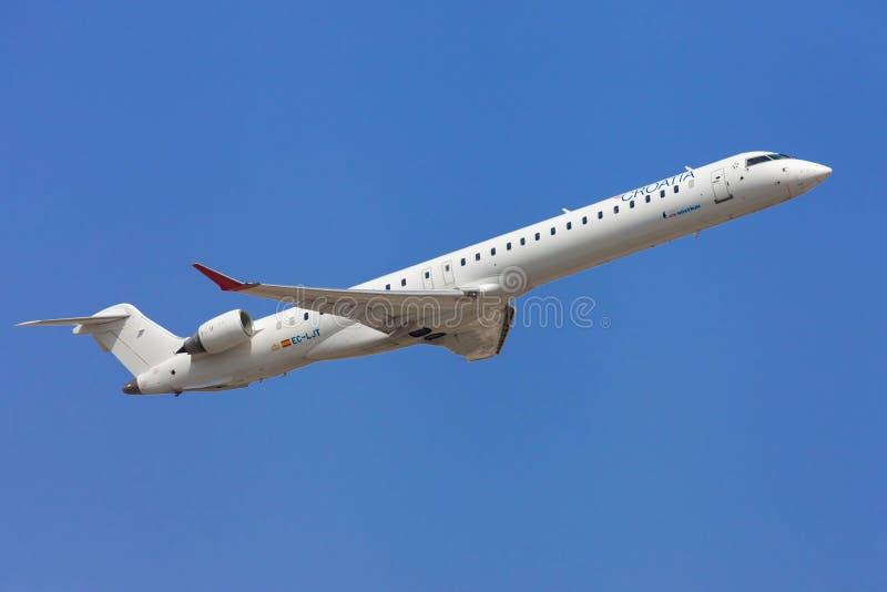 Bombardier CRJ-1000 de Croatia Airlines photo stock