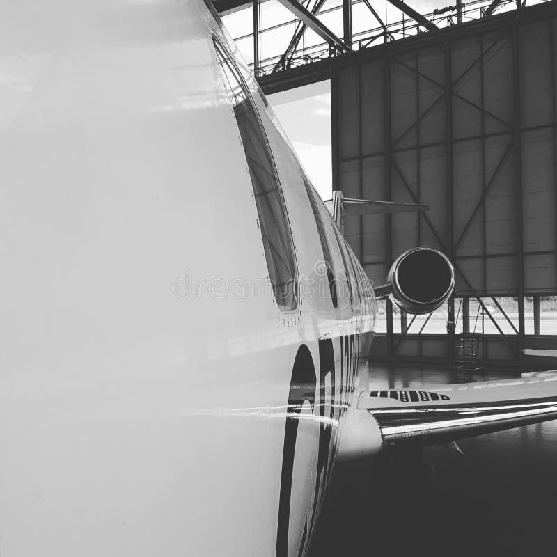 Bombardier CRJ 100 royalty free stock photo