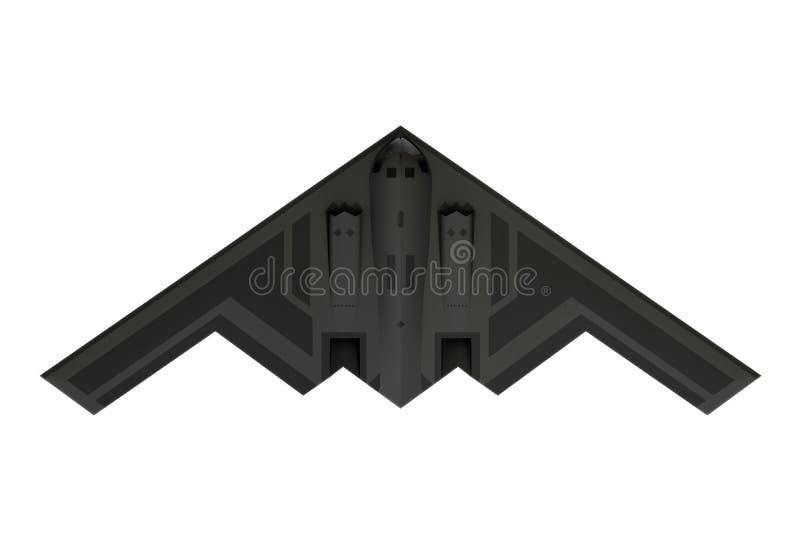 Bombardier de la discrétion B-2 image stock