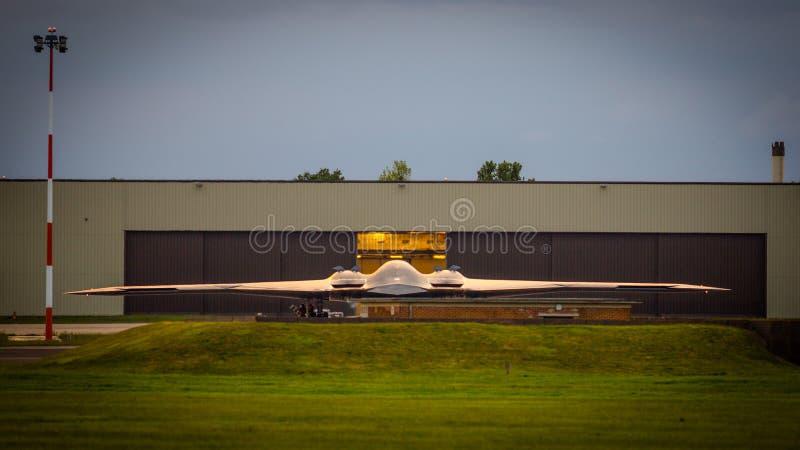 Bombardier de la discrétion B2 photo libre de droits
