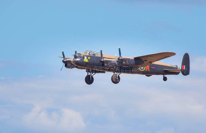Bombardier de Lancaster image libre de droits