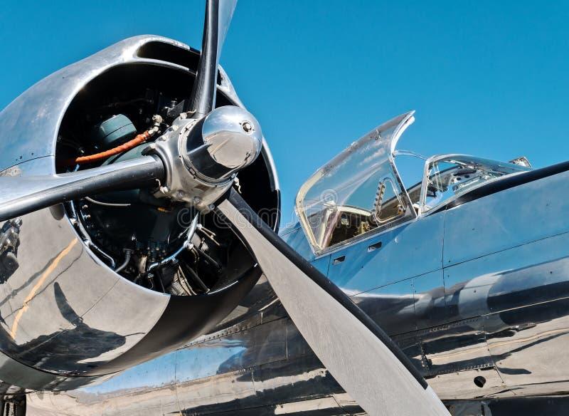 Bombardier de vintage, envahisseur A-26 photo stock