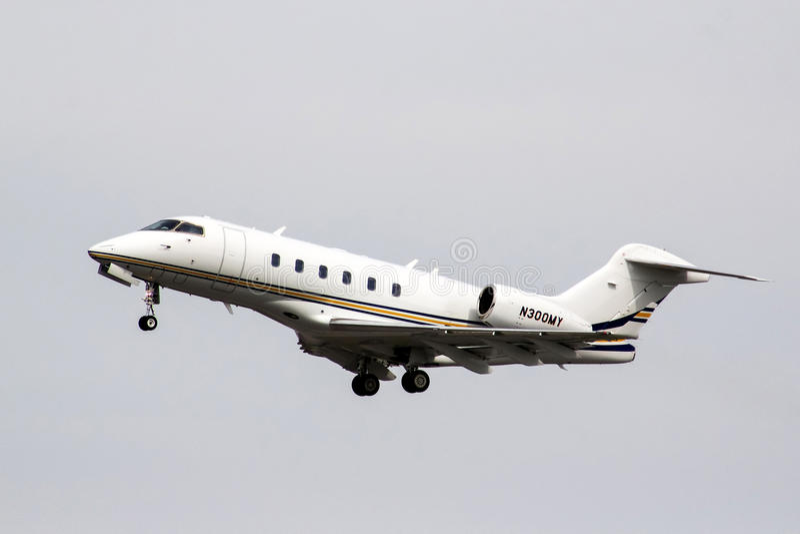 Bombardier Eiser 300 stock afbeelding