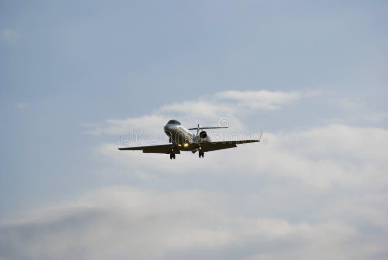 Bombardier Learjet aerospaziale 45 - jet di affari fotografie stock libere da diritti