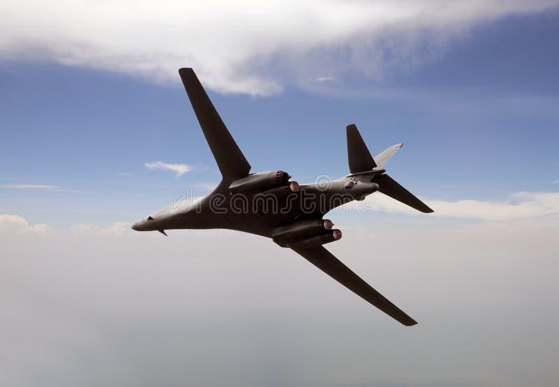 Bombardier stratégique moderne images libres de droits