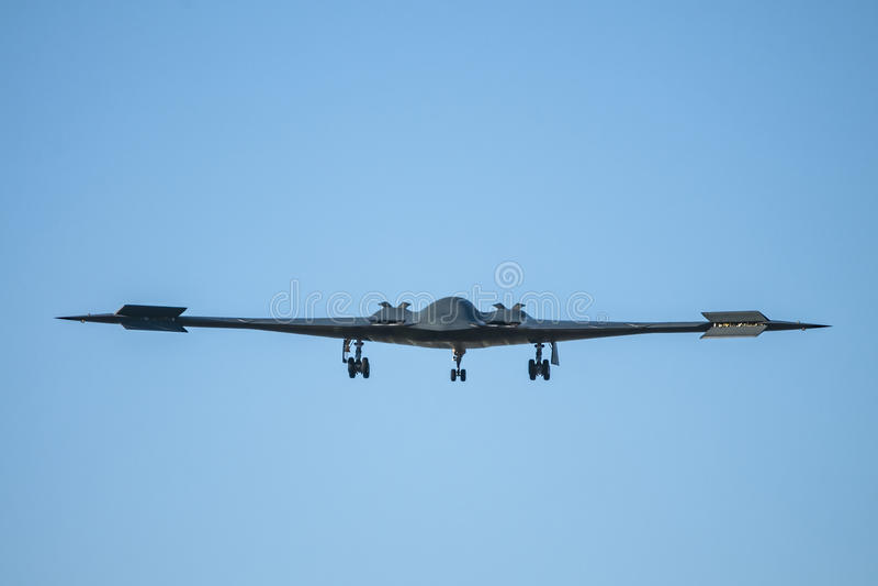 Bombardiere di azione furtiva dell'aeronautica di Stati Uniti B-2 fotografie stock
