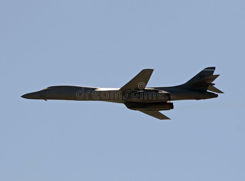 Bombardiere di B-1B Staregic immagine stock