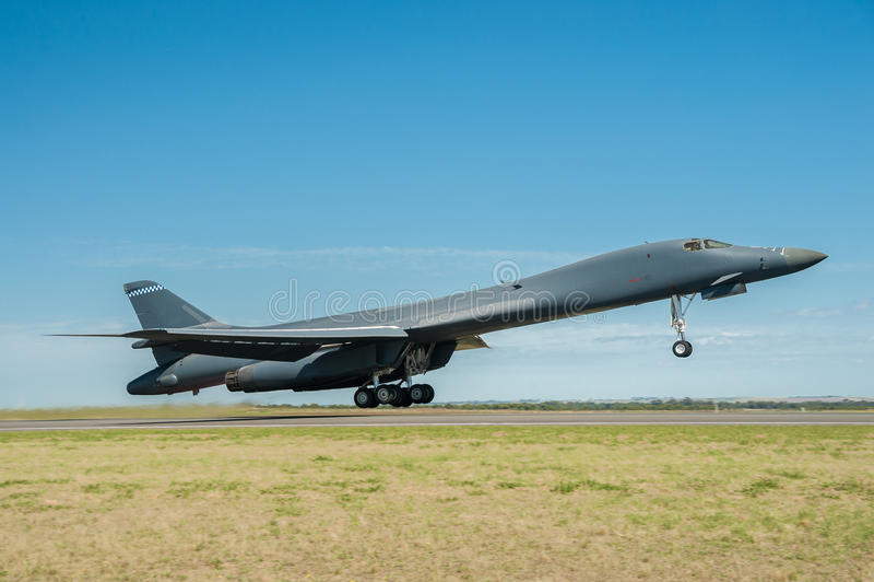 Bombardiere di Rockwell B1 immagini stock libere da diritti