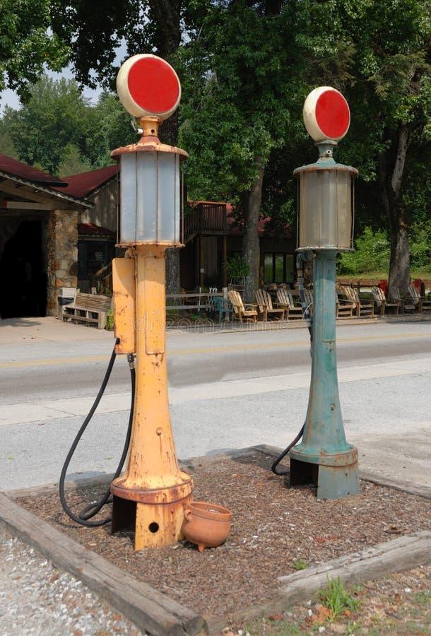 Bombas de gás velhas imagens de stock