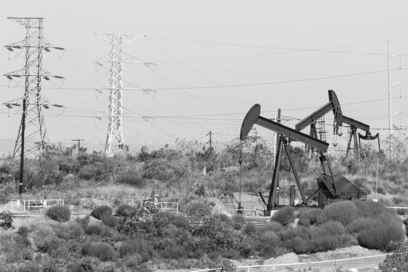 Bombas de petróleo foto de stock royalty free