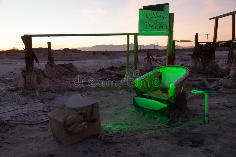 Download Bombay Beach Chair Ruins Royalty Free Stock Photos - Image: 28391838