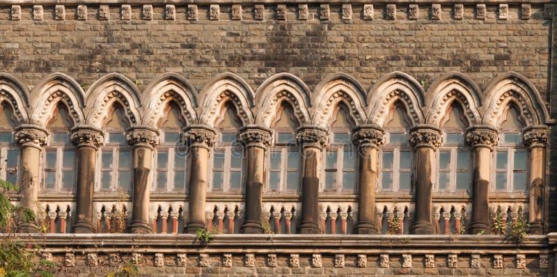 Bombay högre domstol, Indien royaltyfri bild