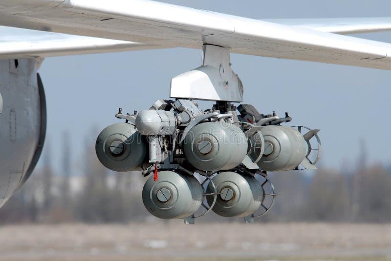 Bombe di aviazione immagine stock