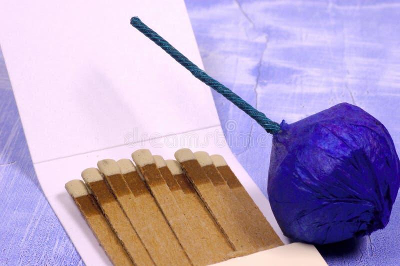 Bombe fumigène 2 photographie stock