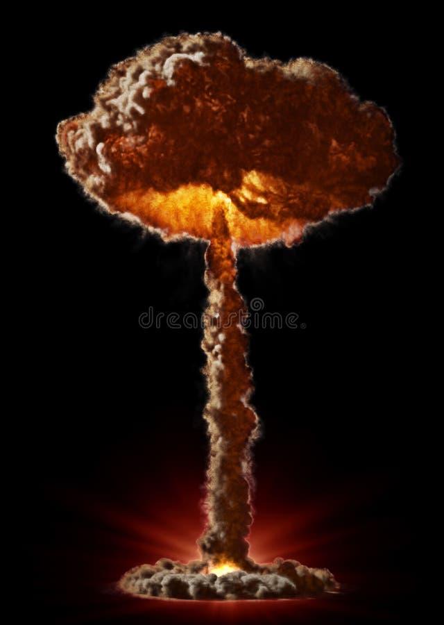 Bombe nucléaire illustration de vecteur