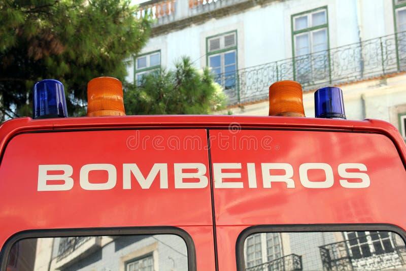 BOMBEIROS stockfotografie