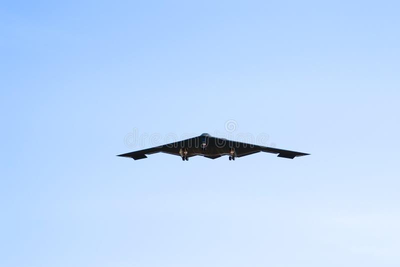 Bomber B-2 lizenzfreie stockfotografie