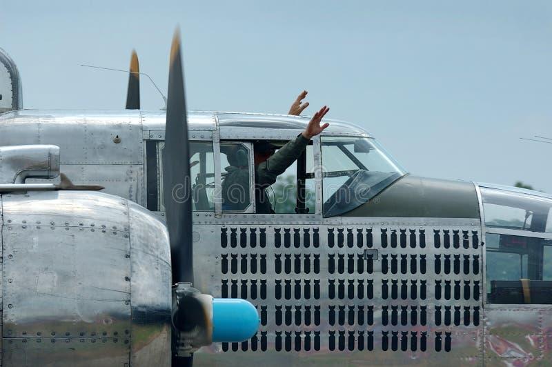 Download Bomber Landing stock photo. Image of wwii, propeller, prop - 199362