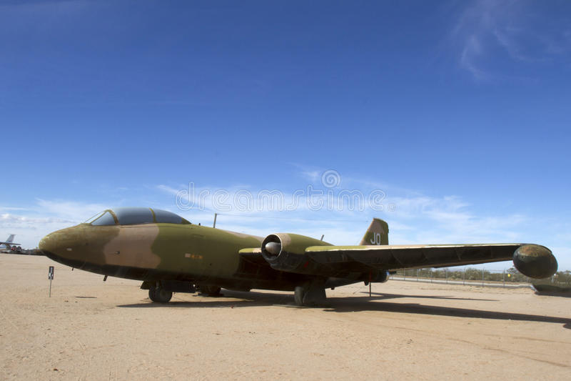 Bomber Martins B-57E Canberra lizenzfreies stockfoto