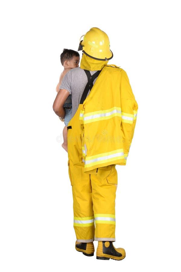 bomberos foto de archivo