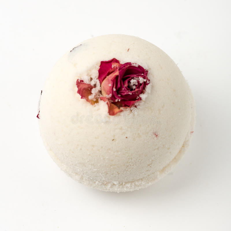 Bombes de Bath, huiles essentielles, aromatherapy, station thermale photo stock