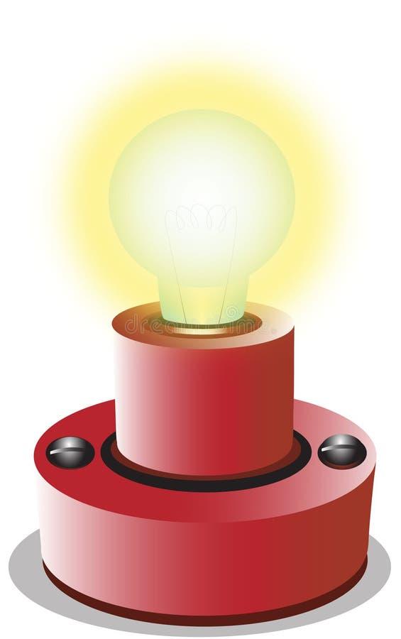 Download Bombilla stock de ilustración. Ilustración de luces, brillante - 1024533