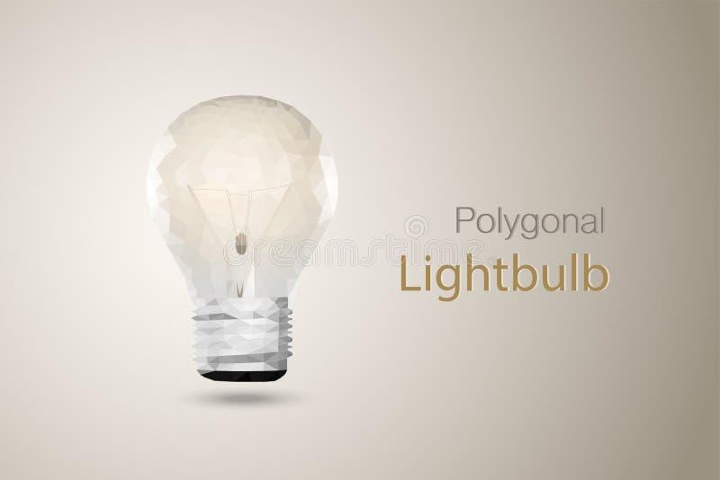 Bombilla poligonal libre illustration