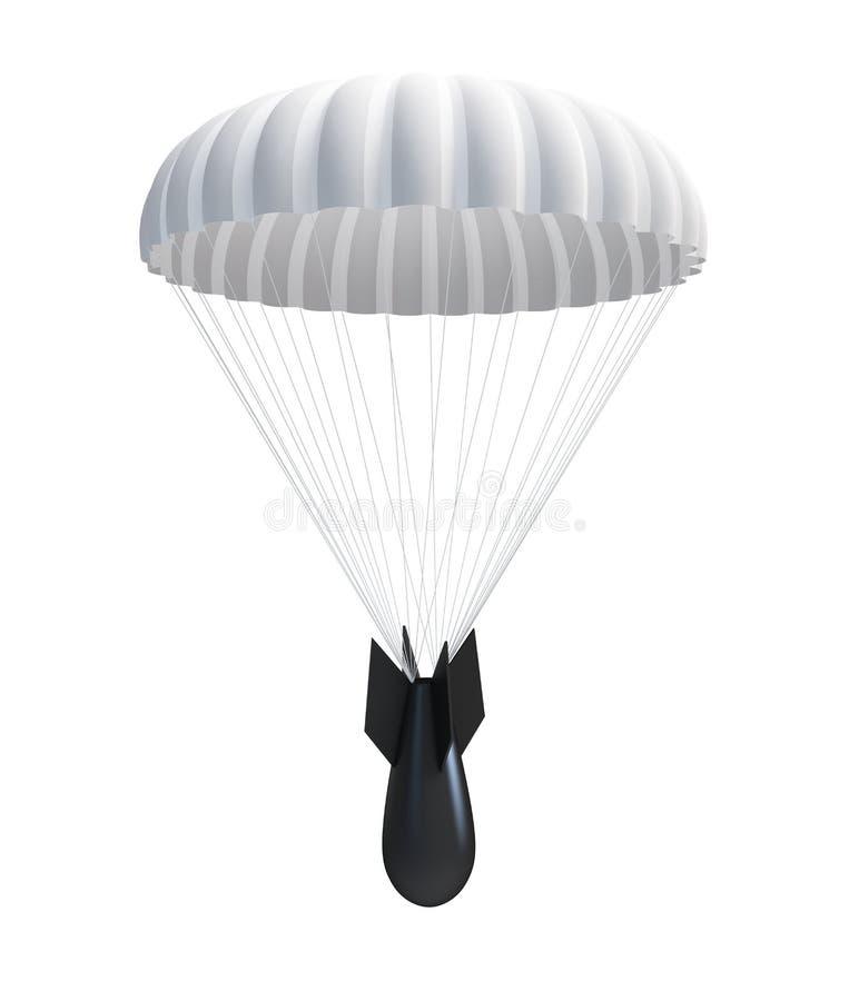 bombowy spadochron ilustracji