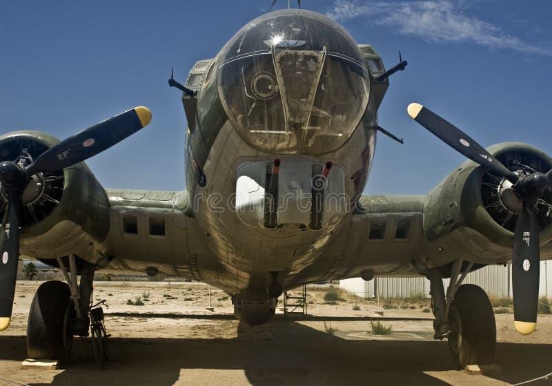 bombplan för 17 b fotografering för bildbyråer