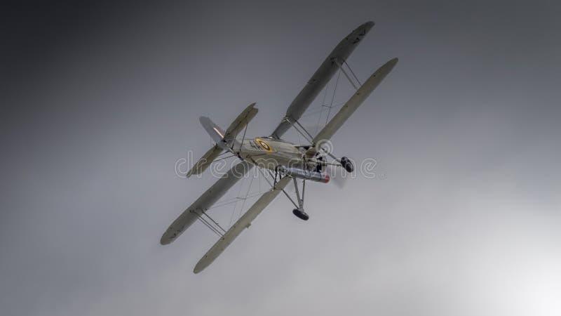Bombplan för Fairey svärdfisktorped arkivfoton