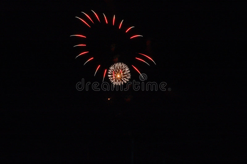 Bombs Bursting In Air stock images