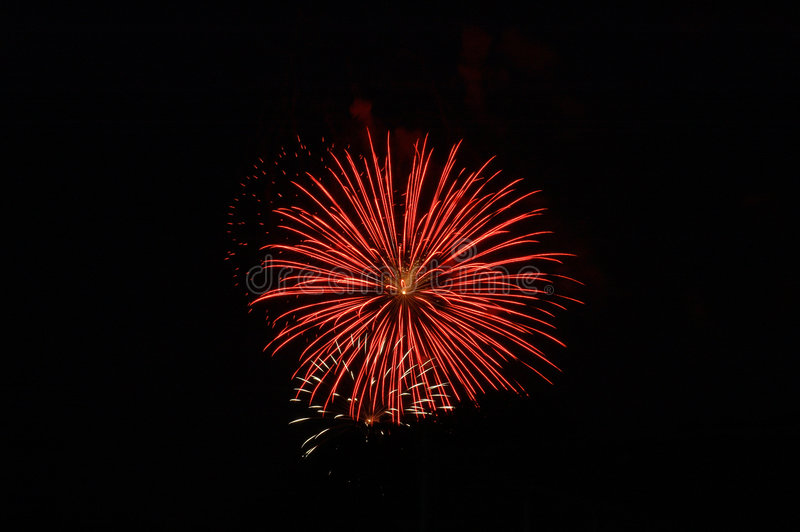 Bombs Bursting In Air royalty free stock photos