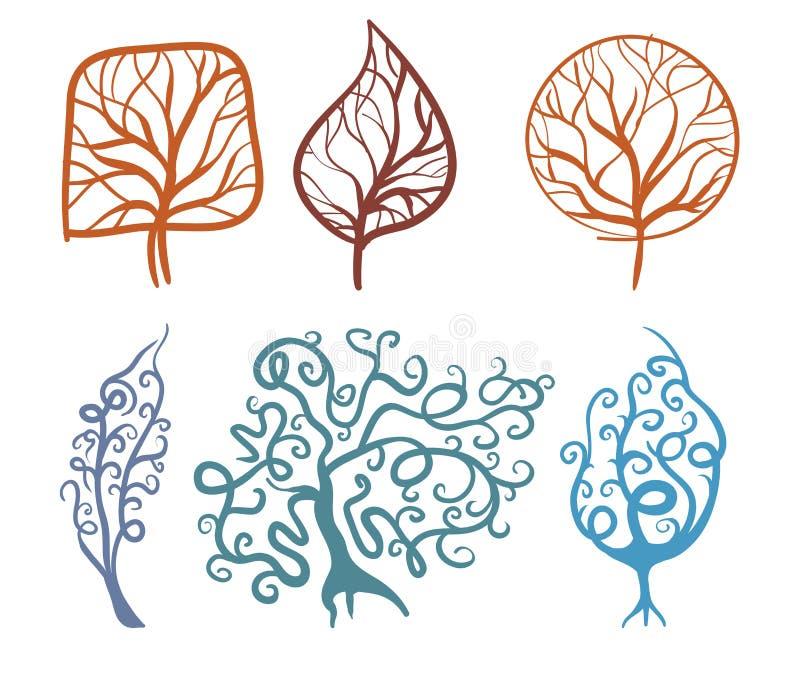 Download Bomen vector illustratie. Illustratie bestaande uit kroon - 29506502