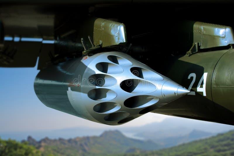 Bommenwerper stock foto