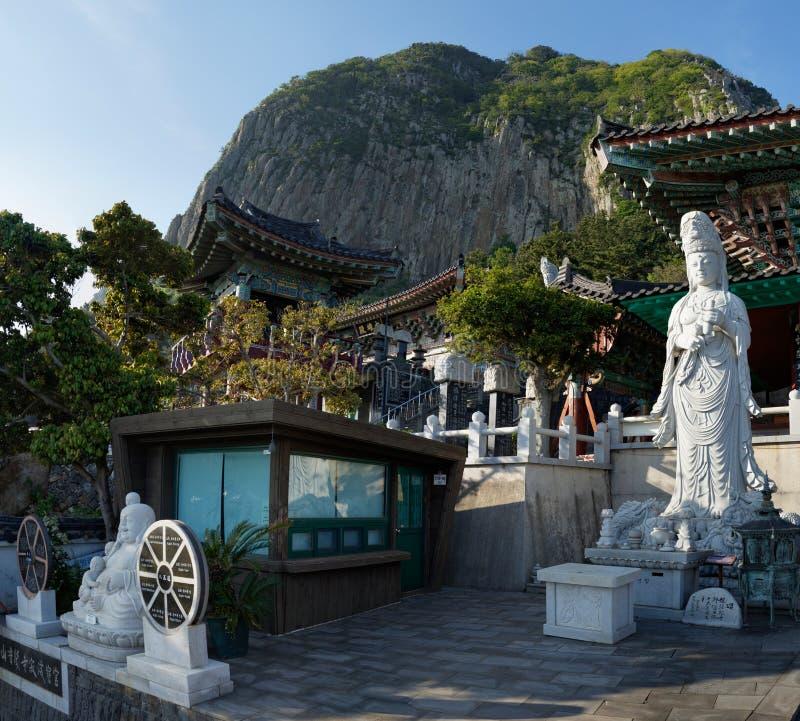 Bomunsa temple, Jeju Island, South Korea royalty free stock images