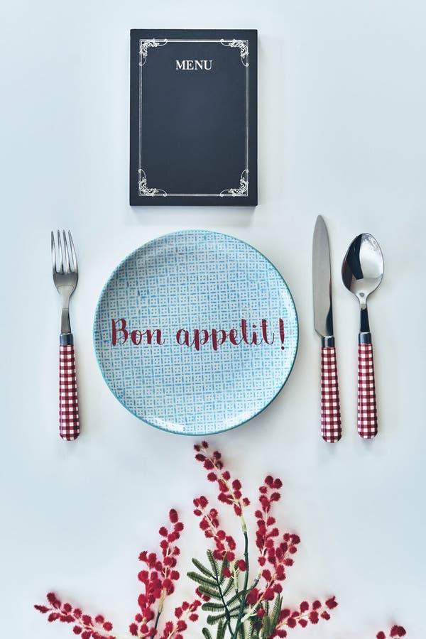 Bon Appetit! arkivbild