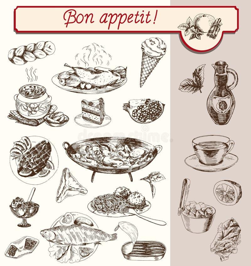 Bon Appetit illustration libre de droits