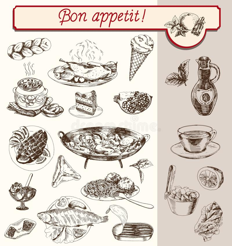 Bon Appetit ελεύθερη απεικόνιση δικαιώματος