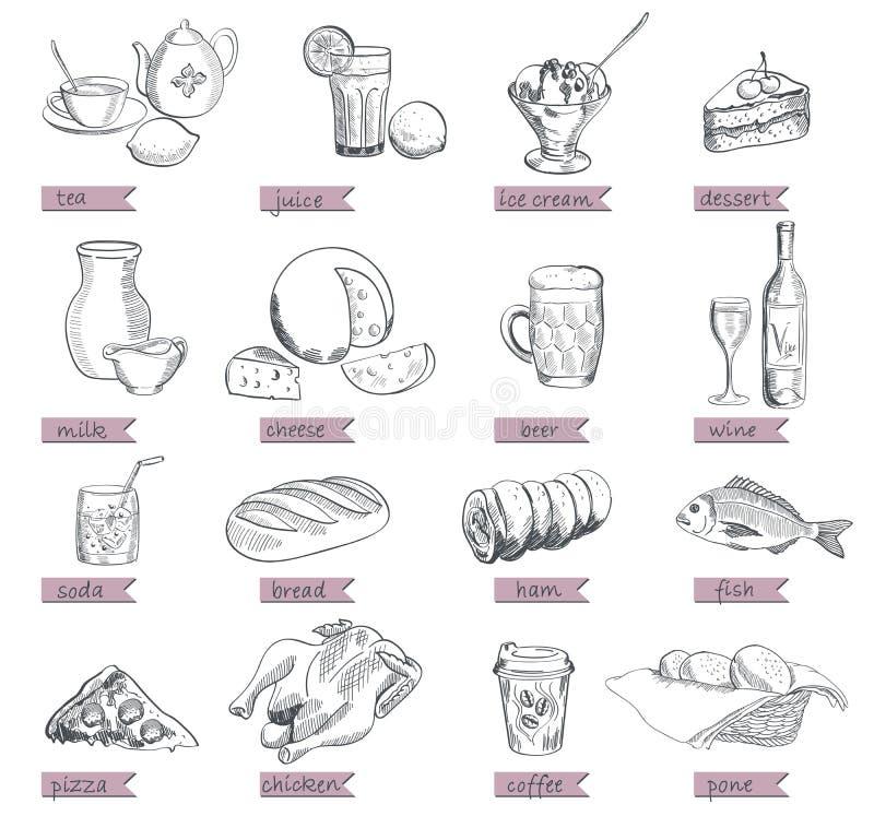 Bon Appetit royaltyfri illustrationer