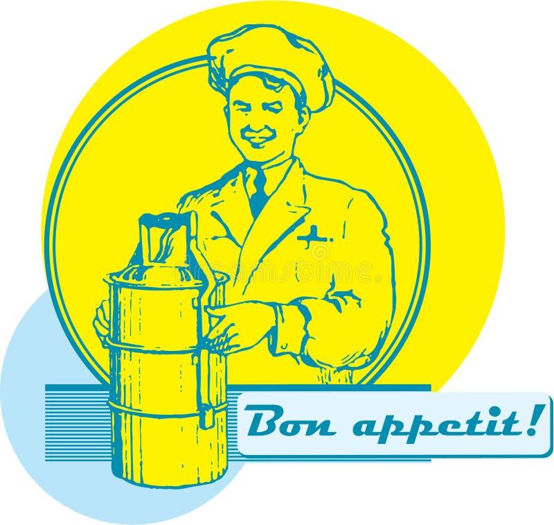 Bon Appetit! vektor abbildung