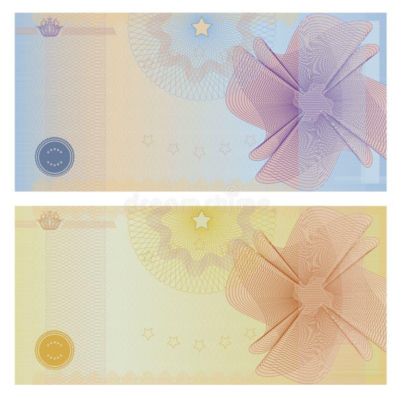 Bon/coupon royalty-vrije illustratie
