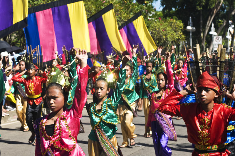 Bon festival de moisson de Kadayawan photos libres de droits